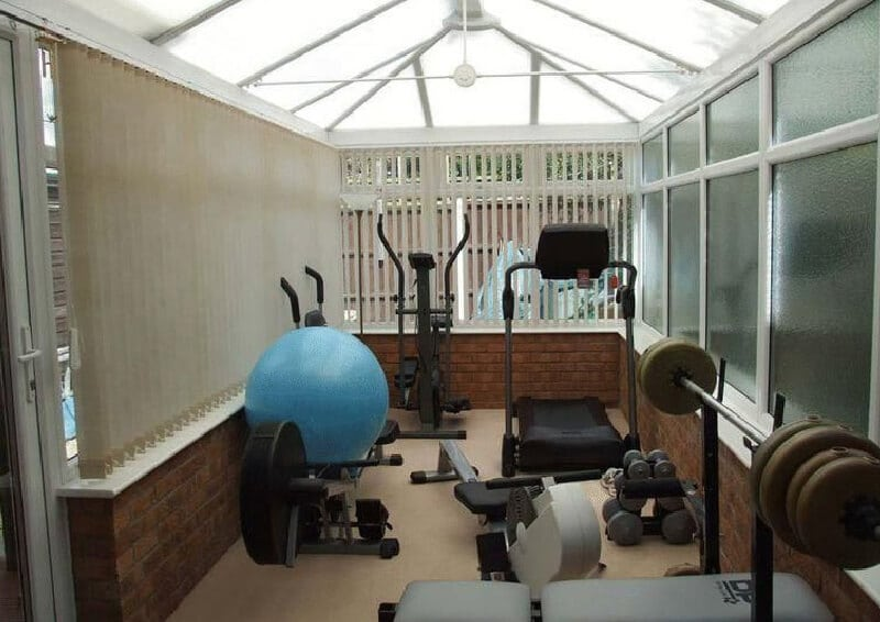 Conservatory gym in your home get a free quote all seasons roof